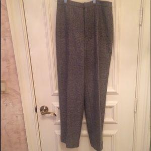Harris/Wallace Gray Wool Pants.  Size 8. NWOT